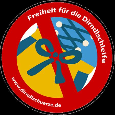 Dirndlschleife Symbol Freiheit